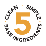 clean simple base ingredients